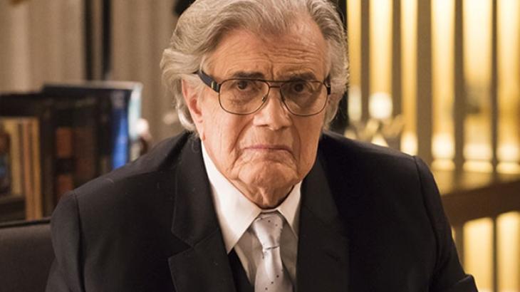 Tarcísio Meira revela medo da morte e questiona ausência de papéis para atores mais velhos em novelas