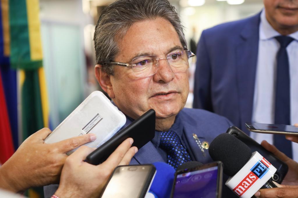 WhatsApp Image 2019 12 05 at 18.23.09 - Adriano Galdino pede apoio da bancada federal contra projeto que visa privatizar empresas de saneamento