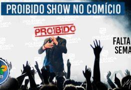 CONTAGEM REGRESSIVA: shows em comícios continuam proibidos em 2020