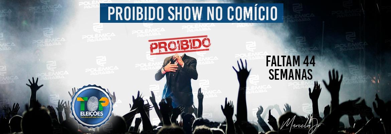 WhatsApp Image 2019 12 06 at 16.49.54 - CONTAGEM REGRESSIVA: shows em comícios continuam proibidos em 2020