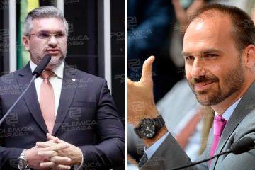 'VOCÊ É UM MENTIROSO': Julian Lemos responde provocação de Eduardo Bolsonaro