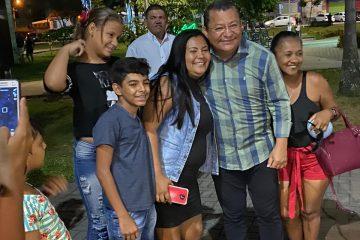 De olho em 2020: Nilvan Ferreira aproveita domingo para escutar a população no Parque da Lagoa