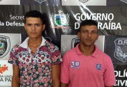 Polícia prende dois suspeitos de tráfico de drogas em Campina Grande