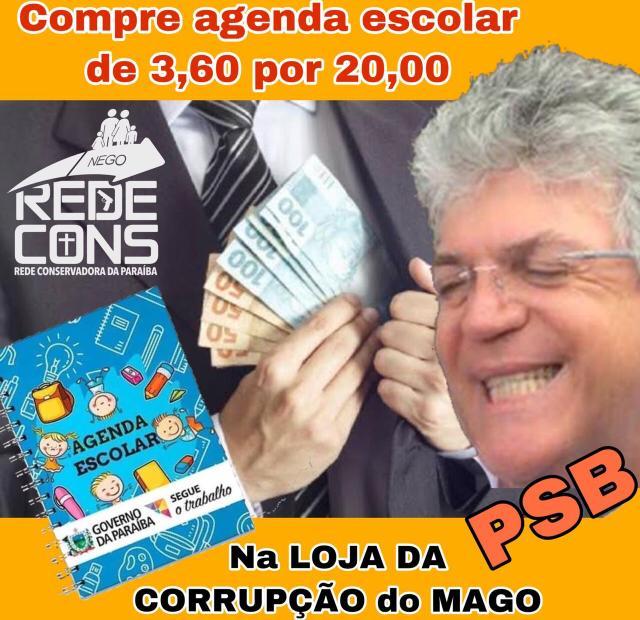 WhatsApp Image 2019 12 28 at 09.02.45 1 - 'CHEGOU A MANGA': além de indignação, 'Calvário' rende charges e até marchinha de carnaval com socialistas