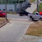 acidente 150x150 - Câmeras de segurança registra momento em que mulher é atropelada na Paraíba