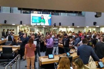 alpb1212b 360x240 - REFORMA DA PREVIDÊNCIA: Servidores da PM ocupam plenário e pedem audiência na ALPB