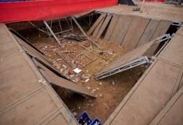 Camarote de show de Jorge & Mateus desaba e deixa 25 feridos