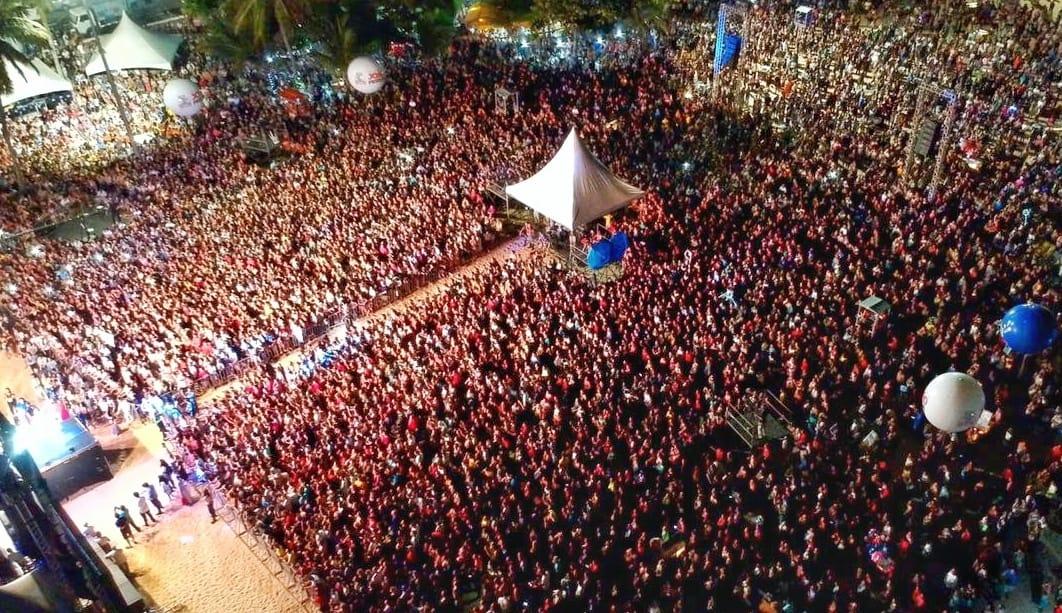 Festival Louvor e Adoração reúne mais de 200 mil pessoas e movimenta João Pessoa com caravanas e turistas de várias regiões
