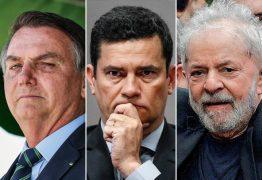 PESQUISA VEJA/FSB: se eleições presidenciais fossem hoje, Lula perderia para Bolsonaro ou Sérgio Moro no 2º turno