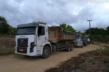 Polícia desarticula operação ilegal de extração de minérios no Conde