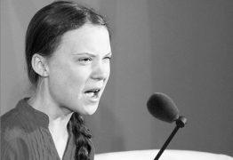 'PUTINHA ATIVISTA': Jornal publica ameaça contra ativista Greta Thunberg