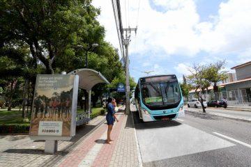 concreto avenida fortaleza parada onibus 360x240 - Condenados em regime aberto, semiaberto e liberdade condicional terão gratuidade nos ônibus