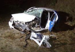Acidente provocado por grupo em carro roubado deixa 5 feridos em Campina Grande