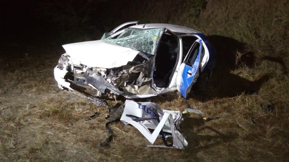 digna - Acidente provocado por grupo em carro roubado deixa 5 feridos em Campina Grande