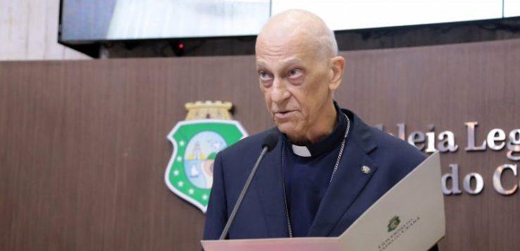 dom 740x493 e1576022768105 - FAKE NEWS: Dom Aldo Pagotto desmente notícia de sua morte: 'estou vivo e com saúde' - OUÇA