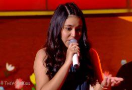 Vencedora do The Voice Kids, paraibana Eduarda Brasil se irrita com comentários sobre seus shows – VEJA VÍDEO