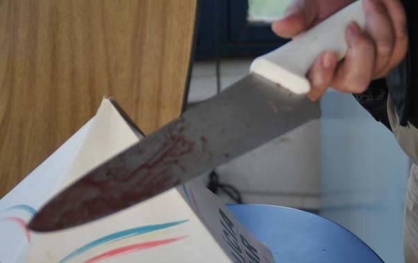 faca1 - Corpo de homem é encontrado com marcas de facadas no Altiplano