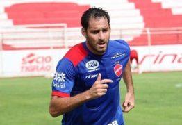 Ex-Botafogo-PB, Frontini chega para ser o camisa 9 do Treze em 2020