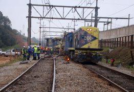 Homem morre atropelado por trem após tentar estuprar enteada e agredir companheira