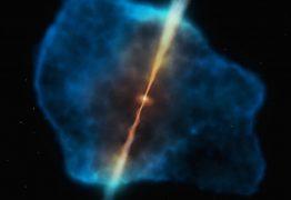 Astrônomos observam pela primeira vez 'café da manhã' de um buraco negro
