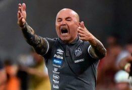 Após reunião conturbadaJorge Sampaoli anuncia saída do Santos