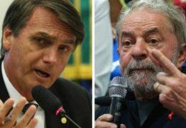 Bolsonaro e Lula se impulsionam na briga por atenção nas redes