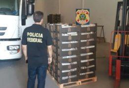 1,2 TONELADA DE COCAÍNA: Polícia Federal prende cinco pessoas que tentavam despachar droga pelo Porto de Natal