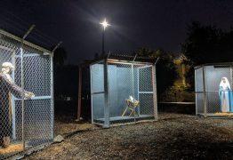 IMIGRANTES ILEGAIS: Igreja monta presépio nos EUA com Jesus, Maria e José presos em gaiolas