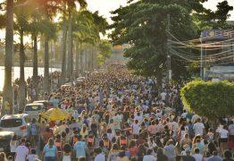 procissao3 262x180 - Festa de Nossa Senhora da Conceição atrai uma multidão pelas ruas de Campina Grande