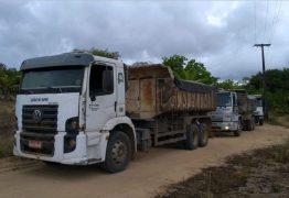 Cinco pessoas são presas em flagrante por extração ilegal de minério no Conde