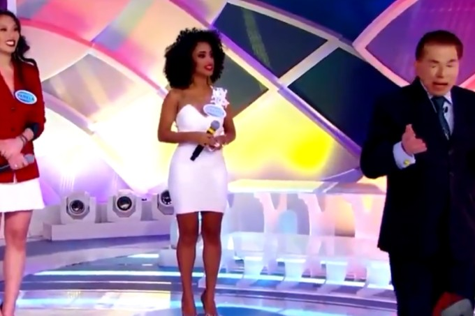 Silvio Santos se recusa a premiar candidata negra e internautas acusam racismo
