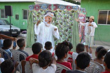 teatronapraca livramento2 360x240 - Projetos levam cultura e arte a alunos da rede municipal de Santa Rita