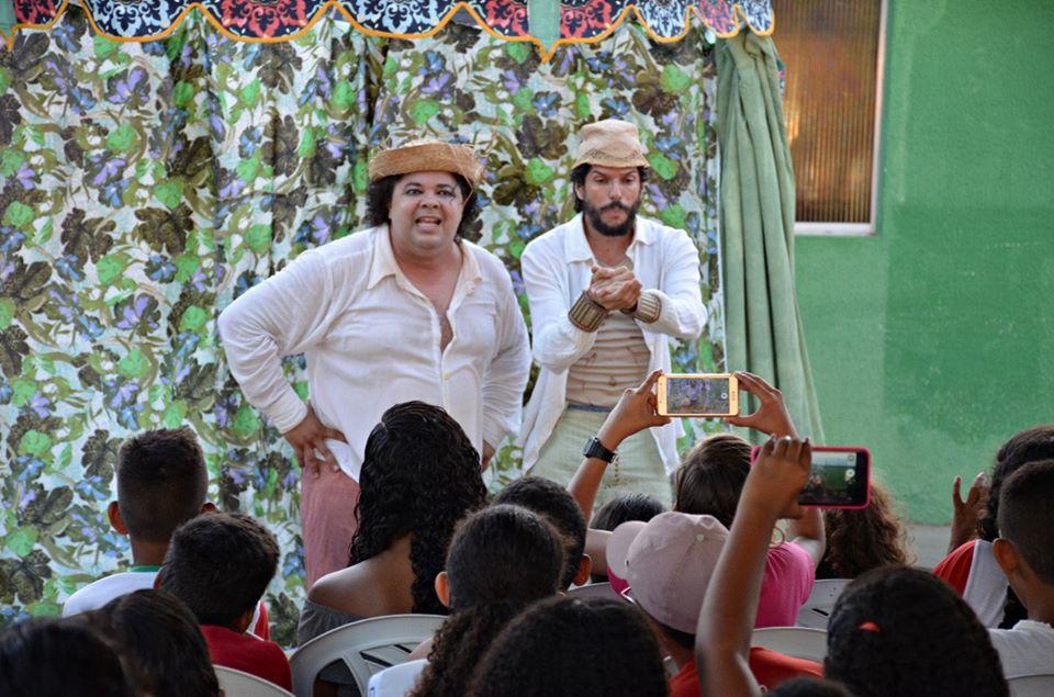 teatronapraca livramento5 - Projetos levam cultura e arte a alunos da rede municipal de Santa Rita