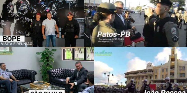 NINJA NA REDE: Julian Lemos inova e faz resumo da semana de trabalho em vídeo para eleitor numa espécie de prestação de contas