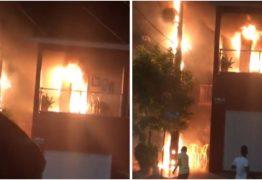 Transformador explode e causa incêndio em residência no sertão da Paraíba – VEJA VÍDEO