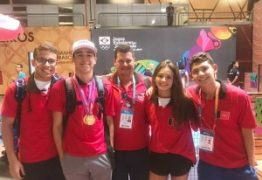 11 MEDALHAS: Paraíba supera índice nos Jogos Escolares