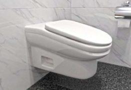Vaso sanitário é desenhado para ser desconfortável e reduzir tempo de funcionários no banheiro