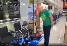 Dono da Havan faz reclamações e debocha da obrigação de instalações para portadores de deficiência em loja – VEJA VÍDEO