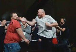 Campeão mundial de tapa no rosto é nocauteado pela primeira vez