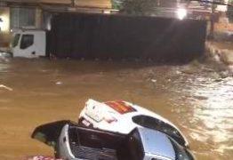 Fortes chuvas e enchentes deixam Espirito Santo em estado de alerta