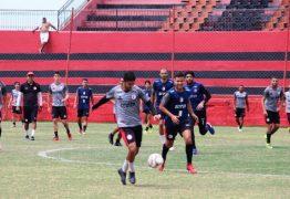 Campinense finaliza preparação para amistoso com Santa Cruz-PE