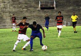 Campinense e Santa Cruz-PE encerram jogo empatados sem gols, no Amigão