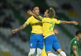 Brasil vence a Bolívia e garante vaga na fase final