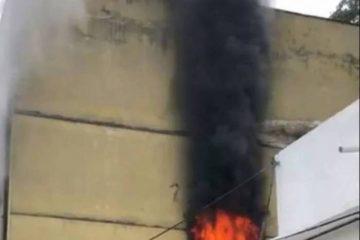 1 benfica 15384671 360x240 - Incêndio atinge presídio onde Cabral ficou preso no Rio - VEJA VÍDEO
