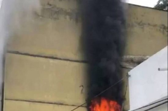 Incêndio atinge presídio onde Cabral ficou preso no Rio – VEJA VÍDEO