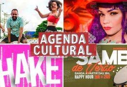 AGENDA CULTURAL: O fim de semana promete ser de muita agitação na capital paraibana