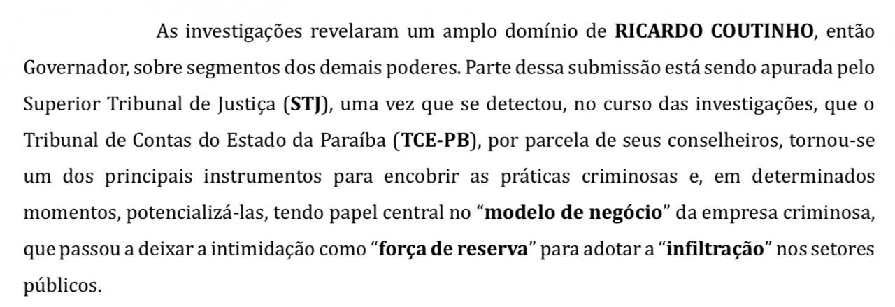 42BE1184 BB69 4A2F A7D7 8FF143845B34 - MPPB apresenta denúncia apontando conselheiros do TCE que teriam função de encobrir ações criminosas