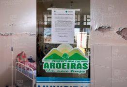 CRM-PB interdita Hospital Municipal de Aroeiras, 'Um hospital não pode funcionar desta forma'