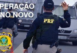 OPERAÇÃO ANO NOVO:  PRF registrou mais de mil infrações de trânsito na Paraíba