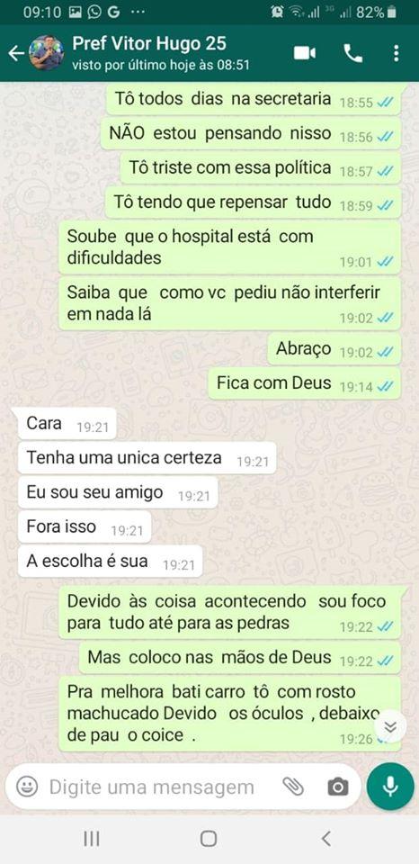 82728223 2716968265036913 662256619576360960 o 1 - BOMBA: ameaças e interferências vazam em conversa de Whatsapp entre prefeito de Cabedelo e ex-secretario de saúde - CONFIRA